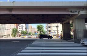 末広町駅からのルート案内4